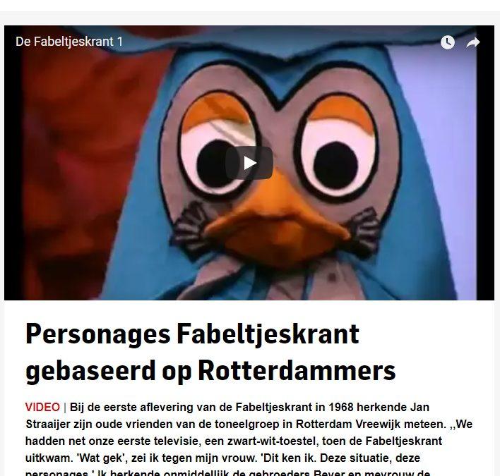 Fabeltjesland in het Algemeen Dagblad